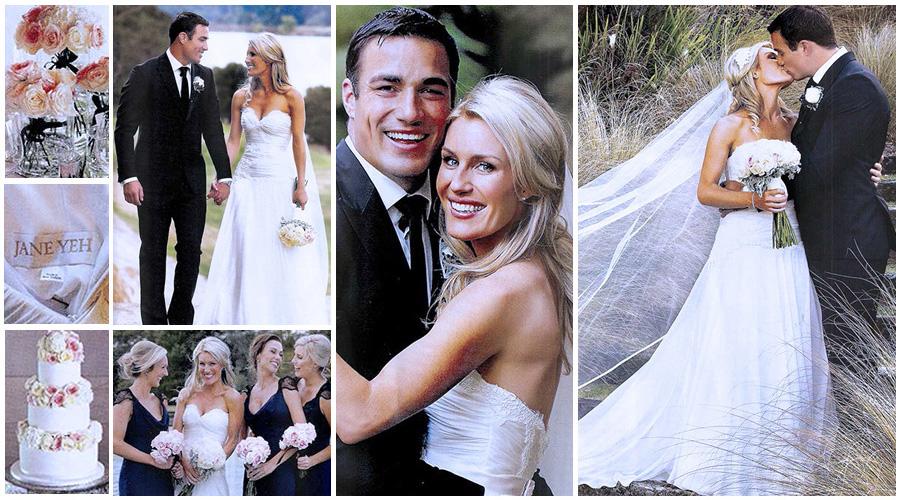 Richard amp amy kahui jane yeh design award winning wedding dress