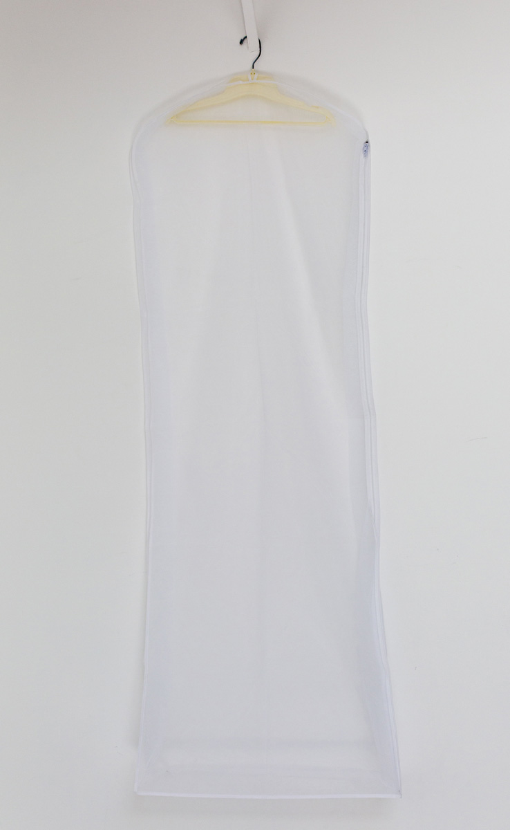 White Organza/Tulle Gown Bag